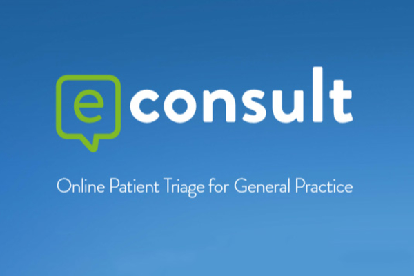 USE eCONSULT TO TO CONTACT YOUR DOCTOR ONLINE